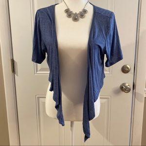 2/$15 or 3/$20- Rose Gal cropped cardigan